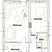 Ground floor MH Landhaus Viehhofen